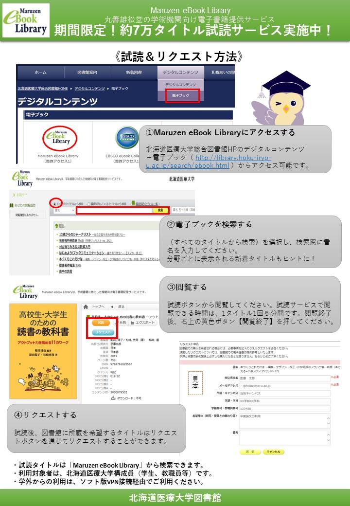 Maruzen eBook Library10gatu.JPG
